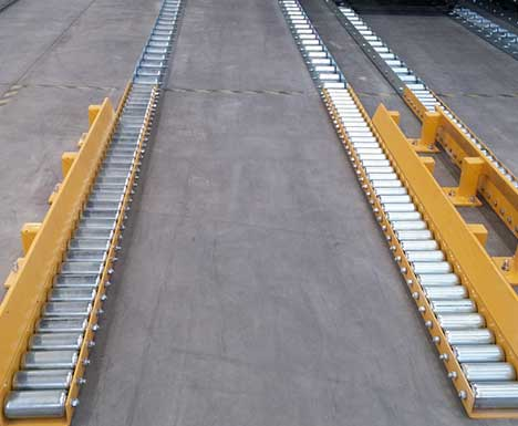 Maxitrax Gravity Roller Conveyor